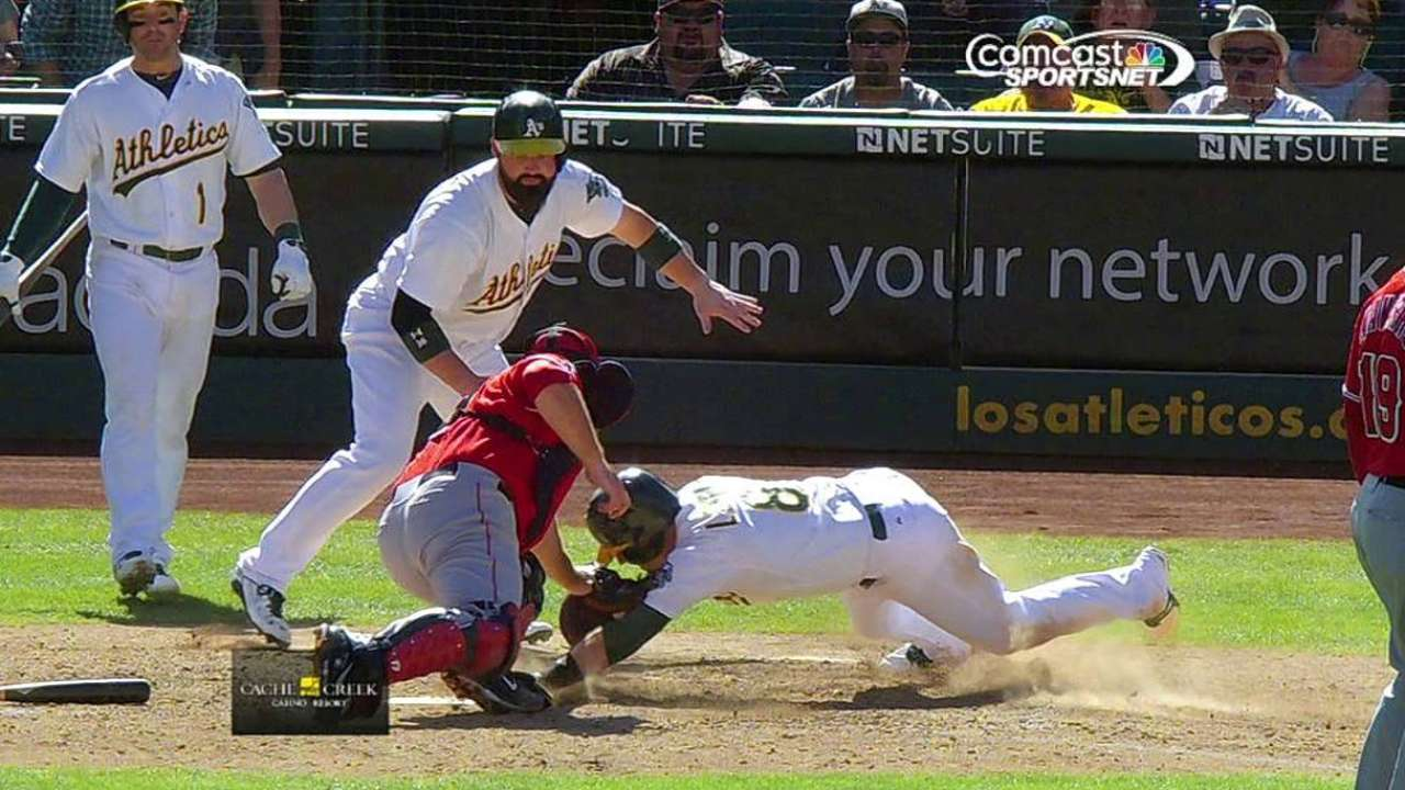 A's need offense to rev it up to secure Wild Card spot