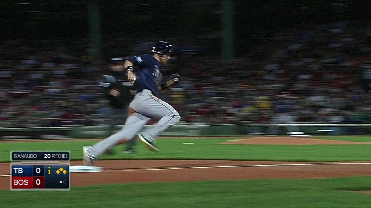 Odorizzi, bullpen unable to slow Red Sox