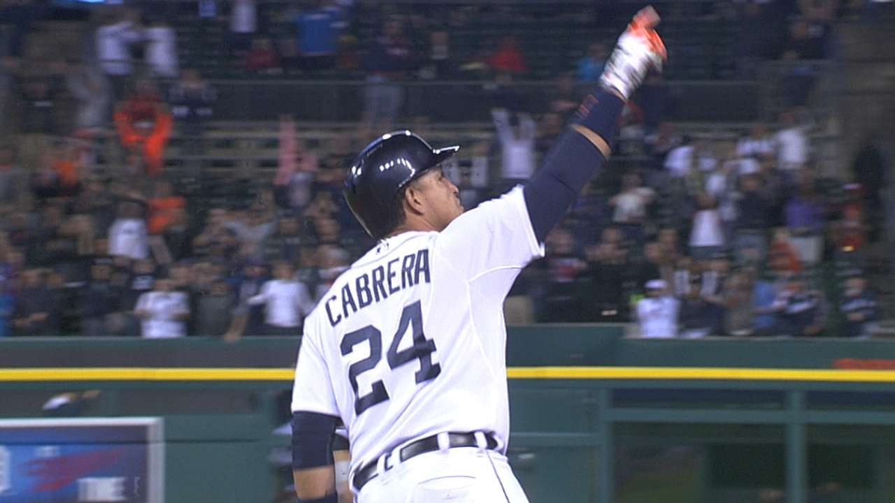 Player of Month Miggy got hot at perfect time