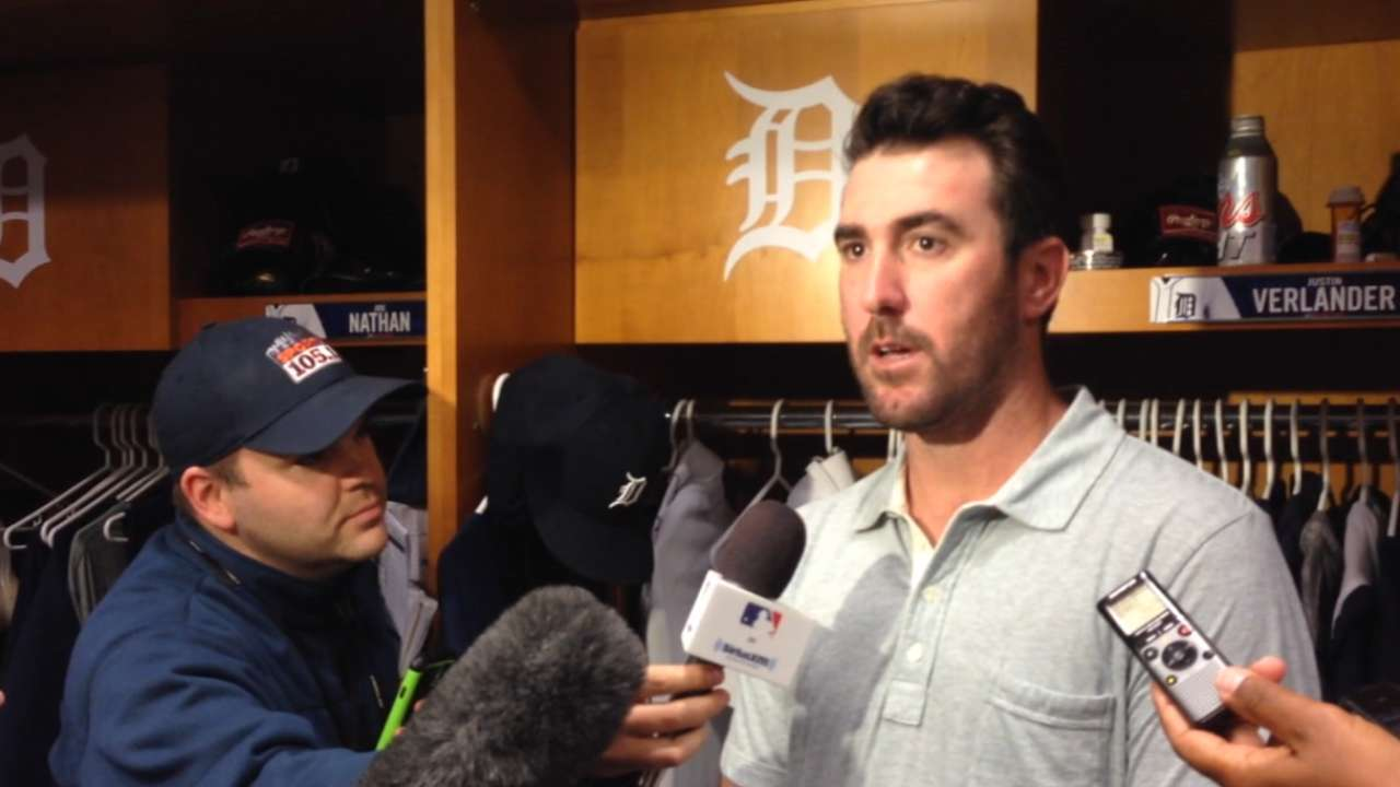 Verlander peaking at right time for Tigers