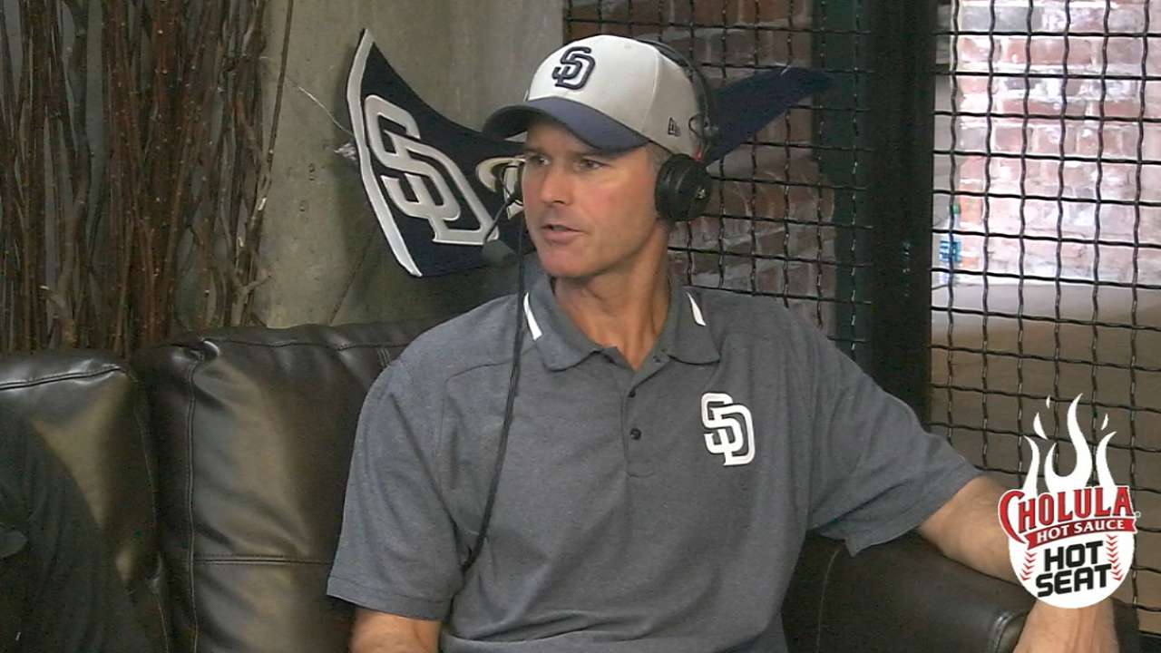Yoder joins Padres Social Hour