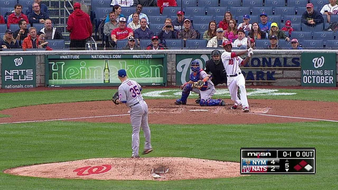 Nats drop Game 1 to Mets in quest for best record