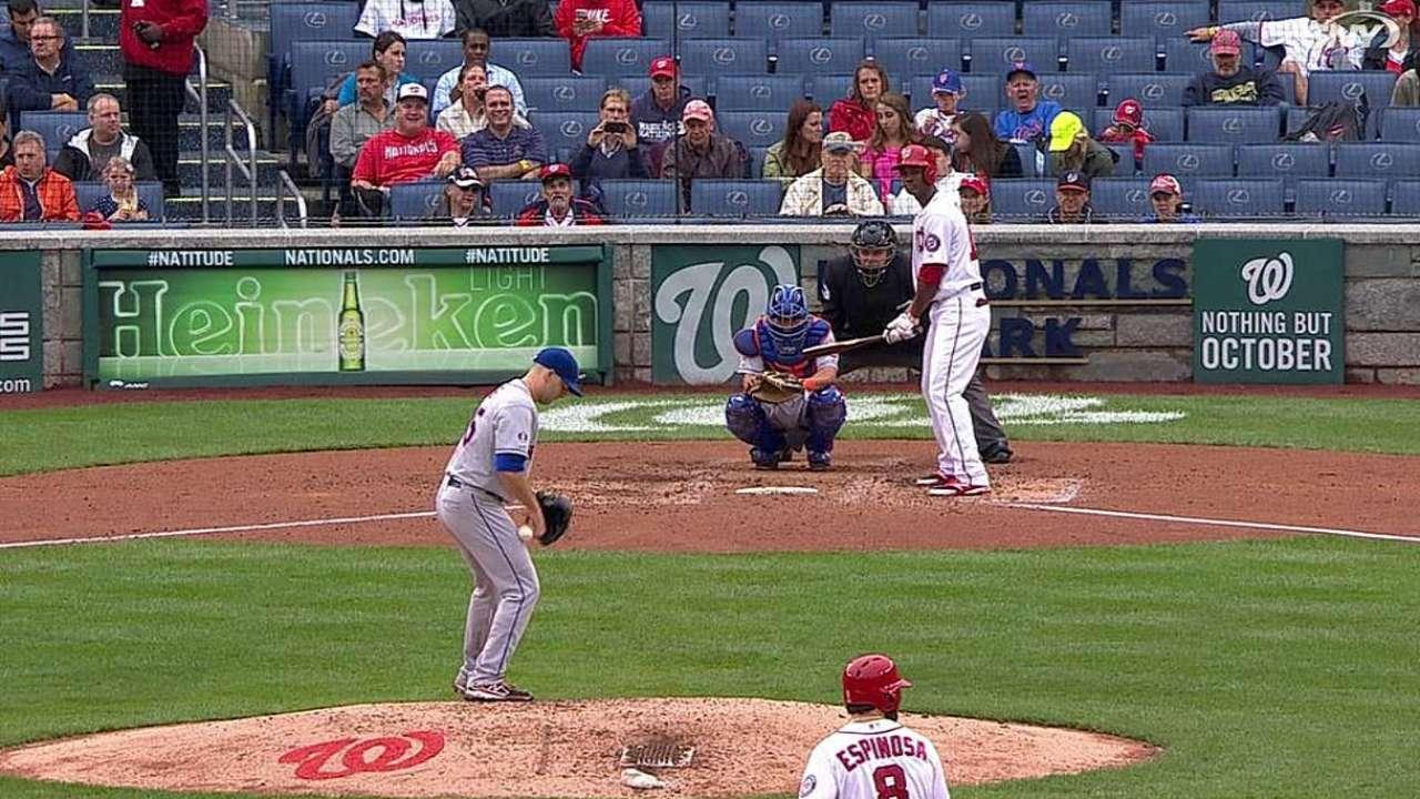 Gee's flinch snaps Mets' admirable balk-less streak