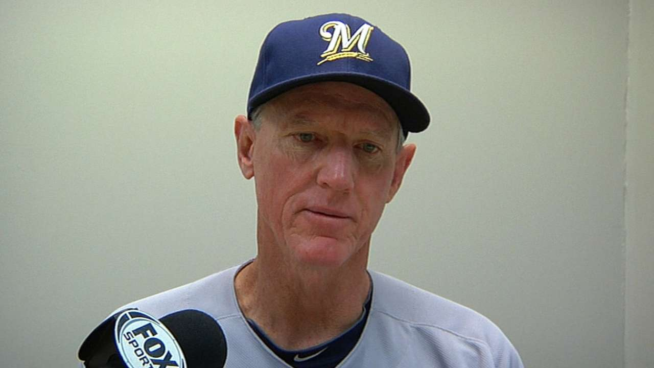 Blame for Brewers' collapse might fall on Roenicke