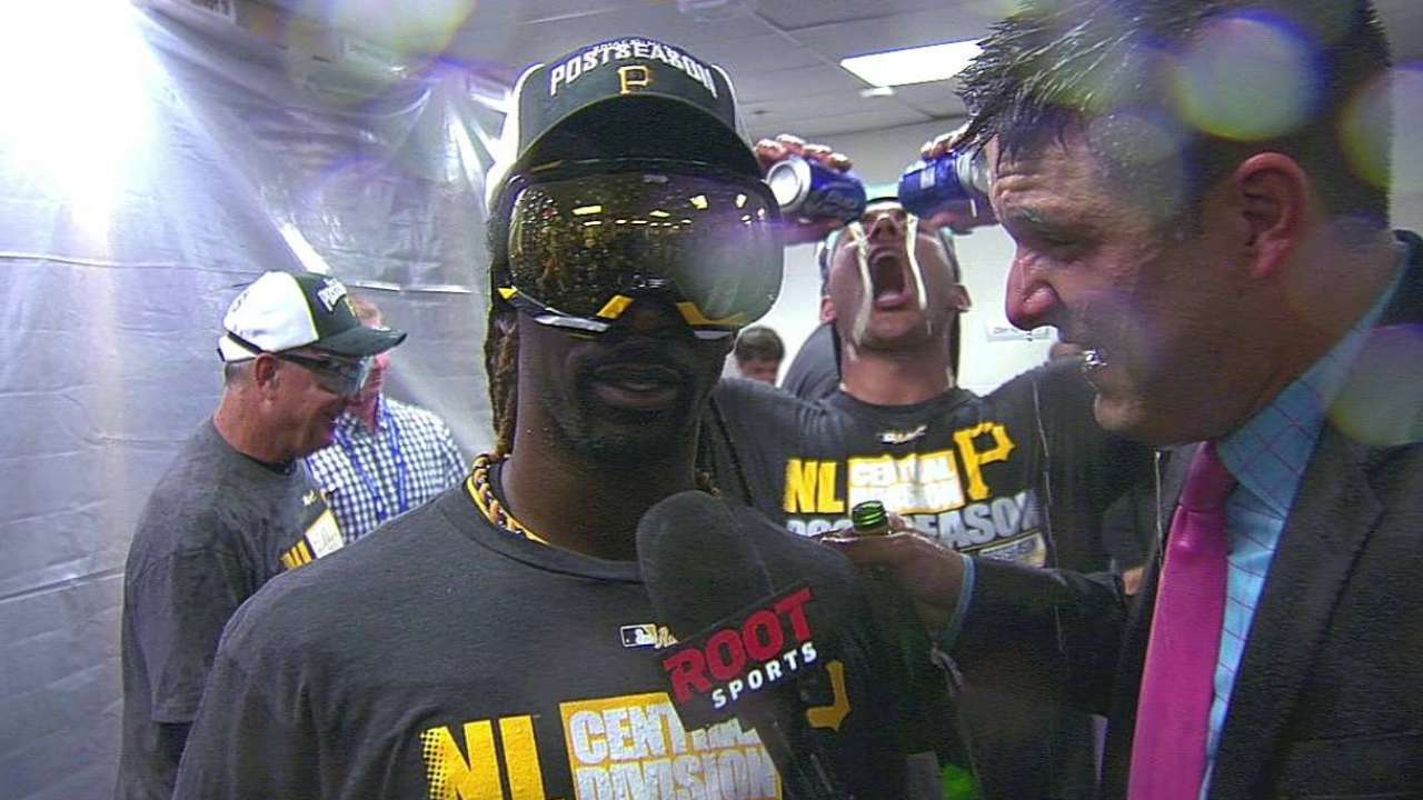 Driving force: McCutchen leads with grit, selflessness