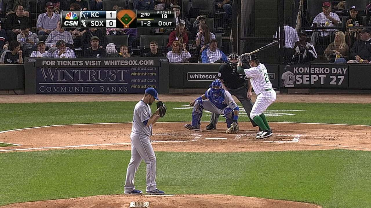 Avisail exits early with stiff lower back