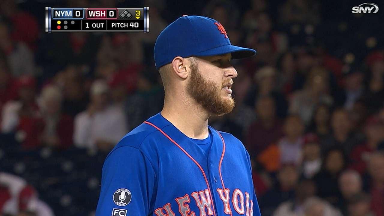 Wheeler's seven strikeouts