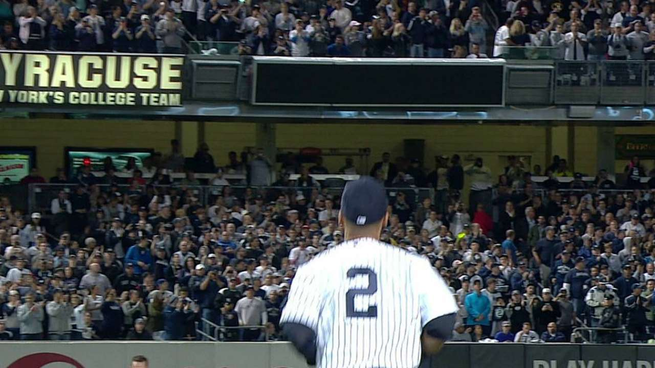 Jeter's place among Yankees greats secure