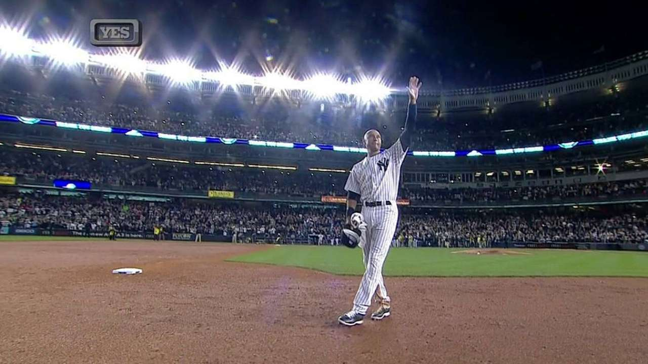 Beginning to end: Jeter's first, last games in the Bronx