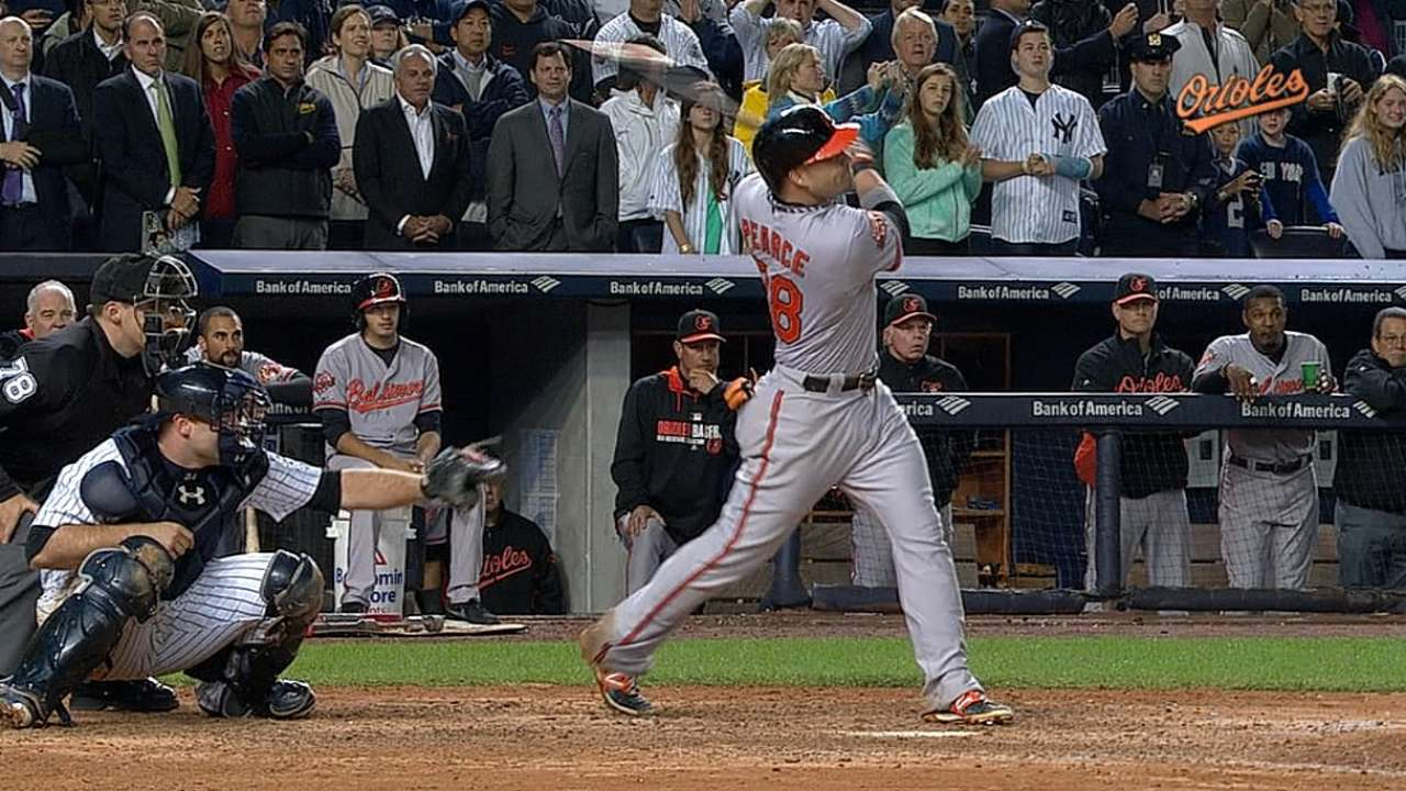 Despite four HRs, O's bow to Jeter in walk-off loss