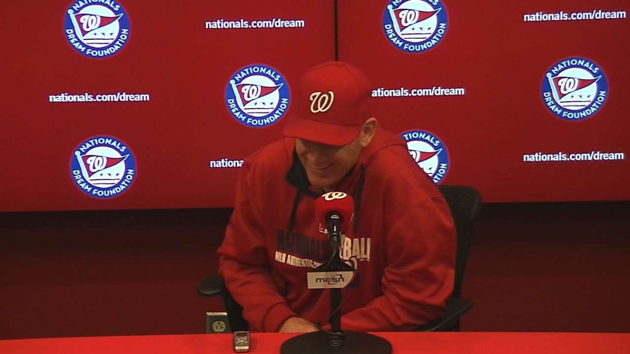 Sim game, workouts on tap for Nats to stay fresh