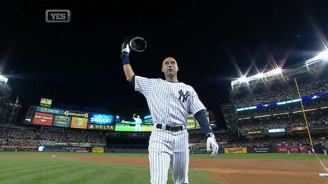 There will never be another Derek Jeter