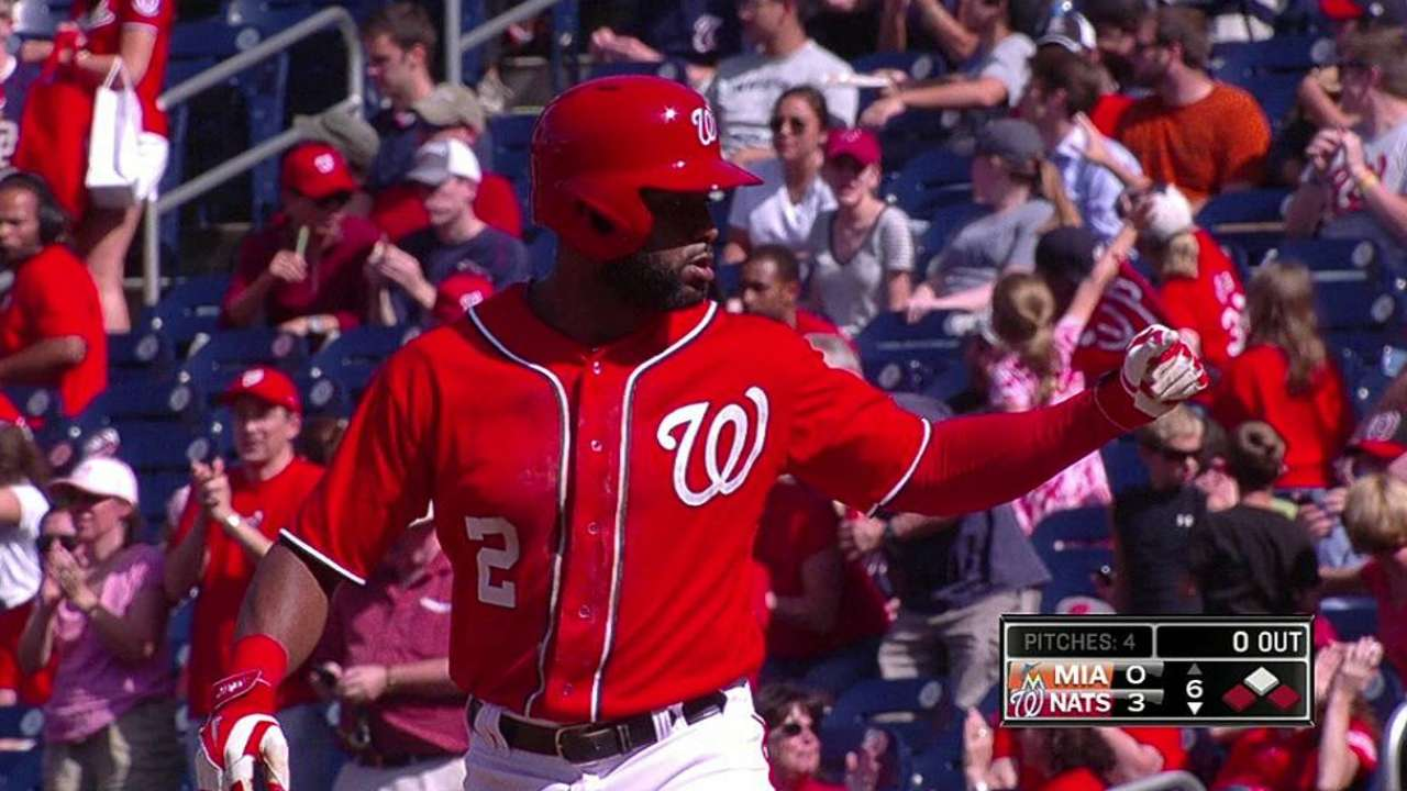 Span seeing action in final games to 'keep his rhythm'