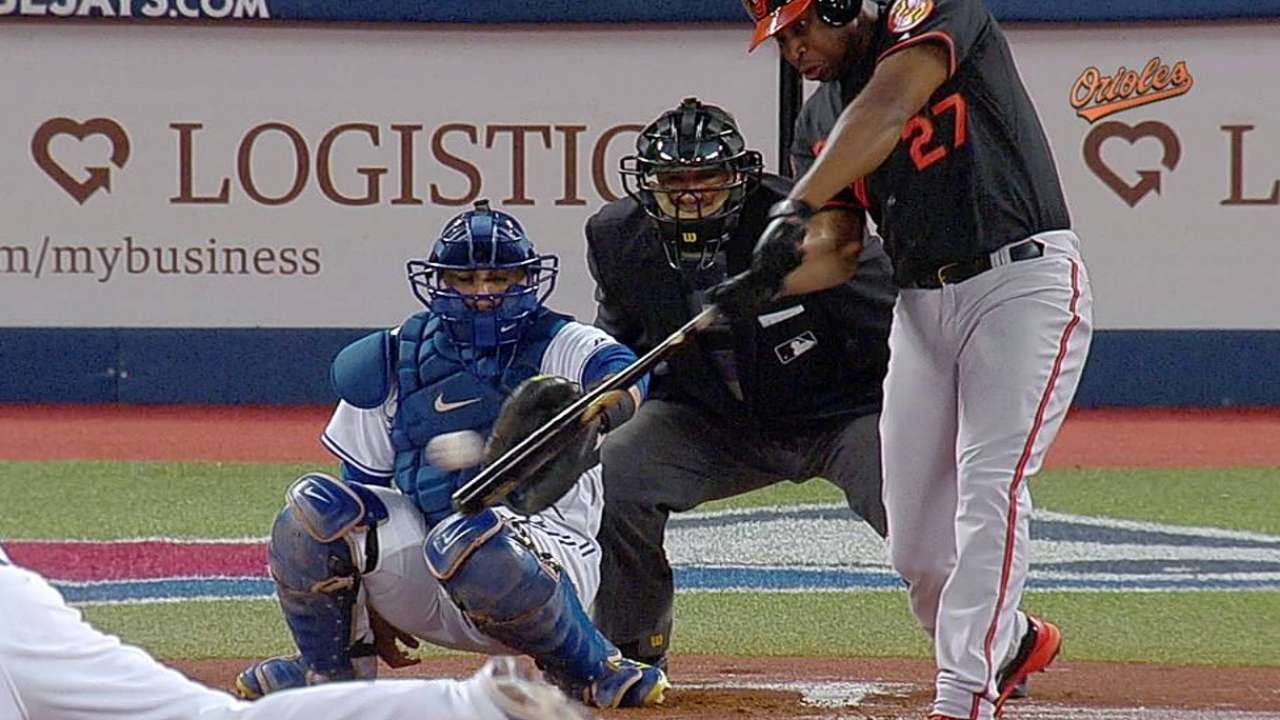 O's locked into AL's second seed after loss to Jays