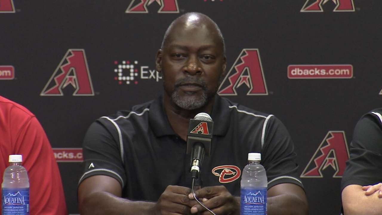 New D-backs' front office will work in concert
