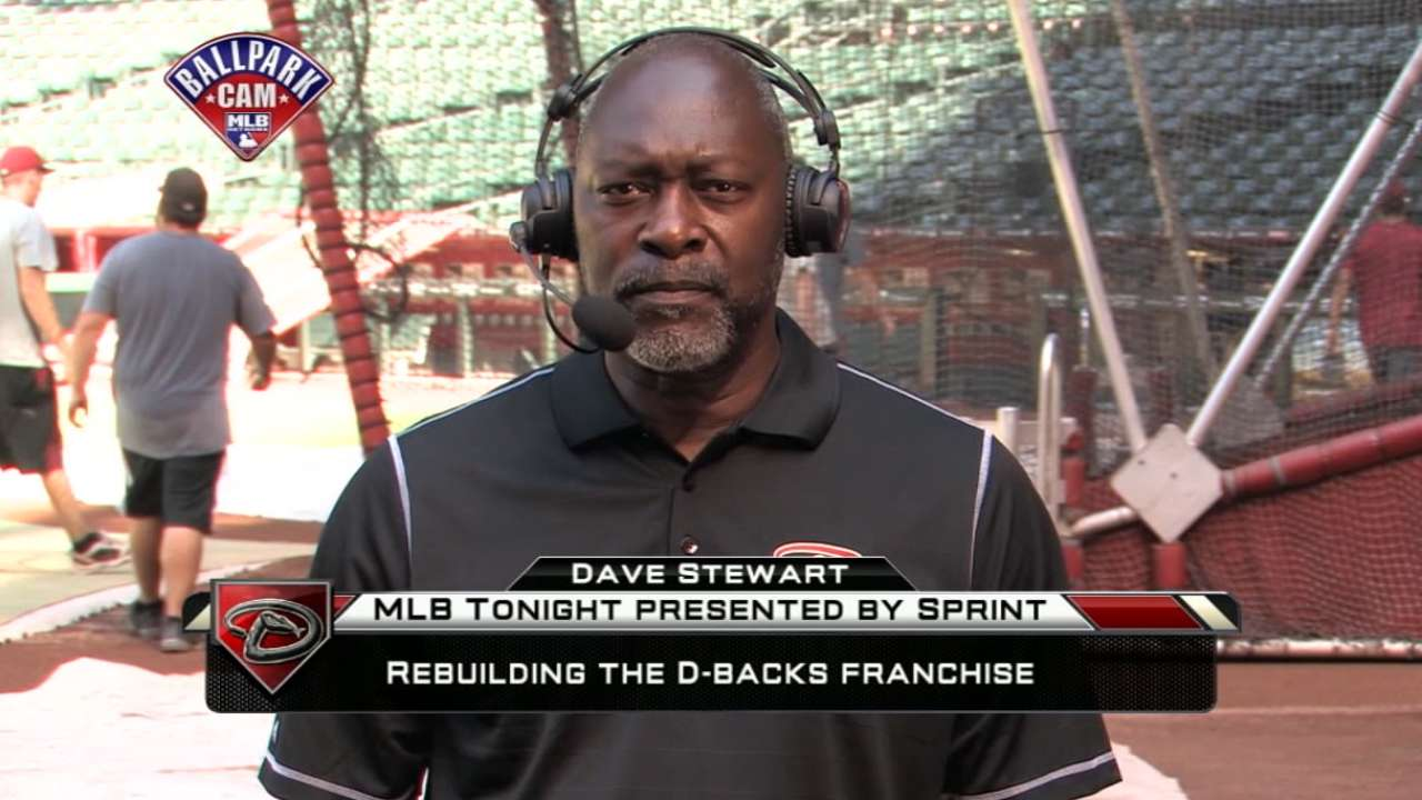 Stewart, D-backs look to bolster squad for '15