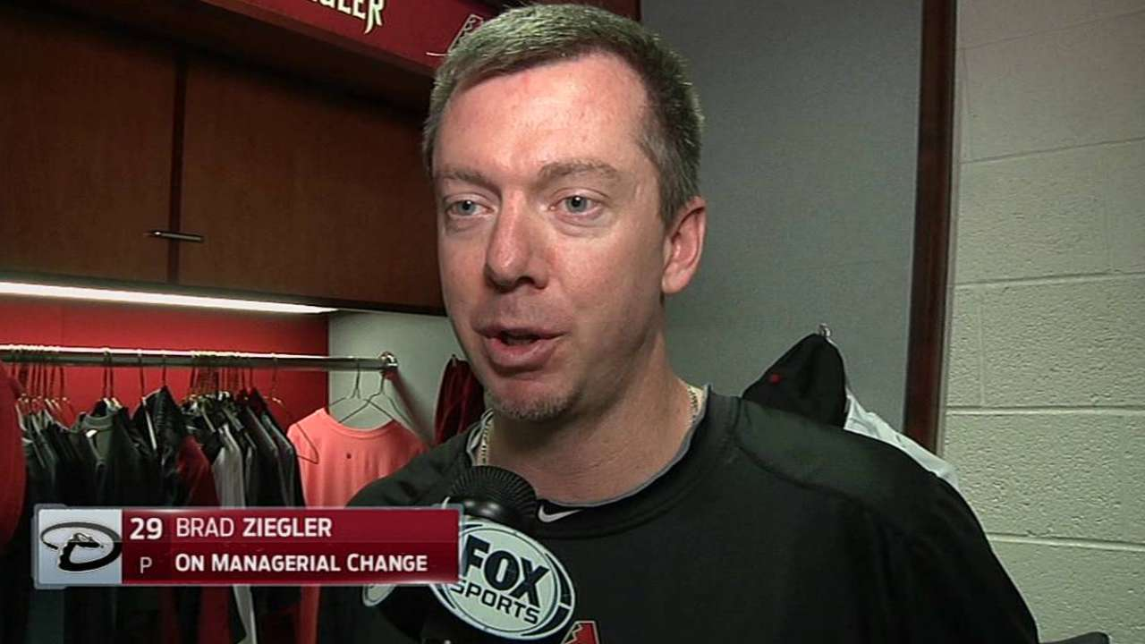 D-backs players surprised by Gibson's dismissal