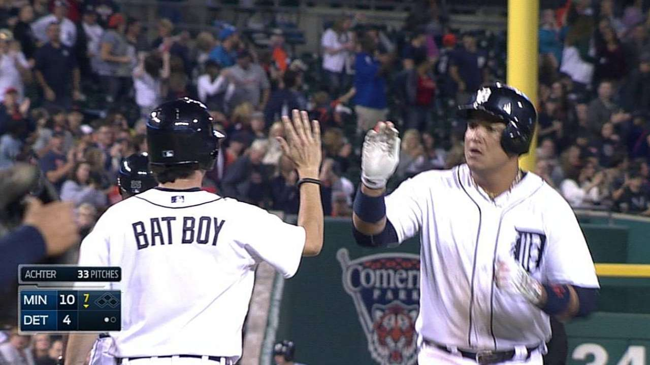 Tigers fall to Twins, see AL Central lead cut to one