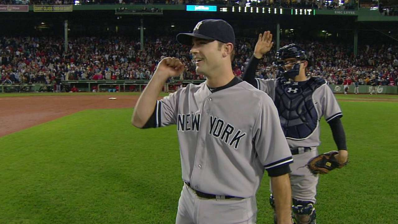 Yanks open Jeter's final series with win over Sox