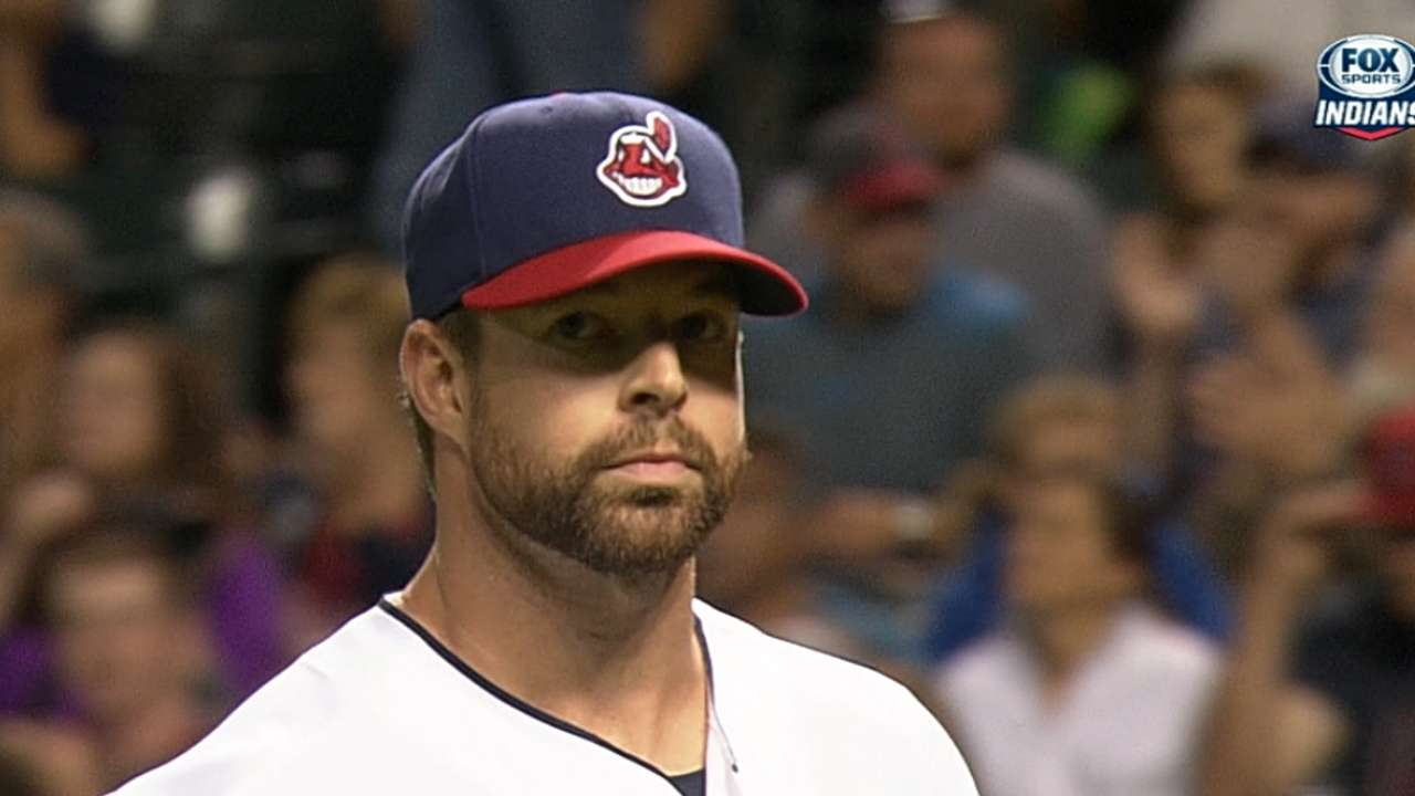 Kluber makes closing statement for Cy with 11-K gem