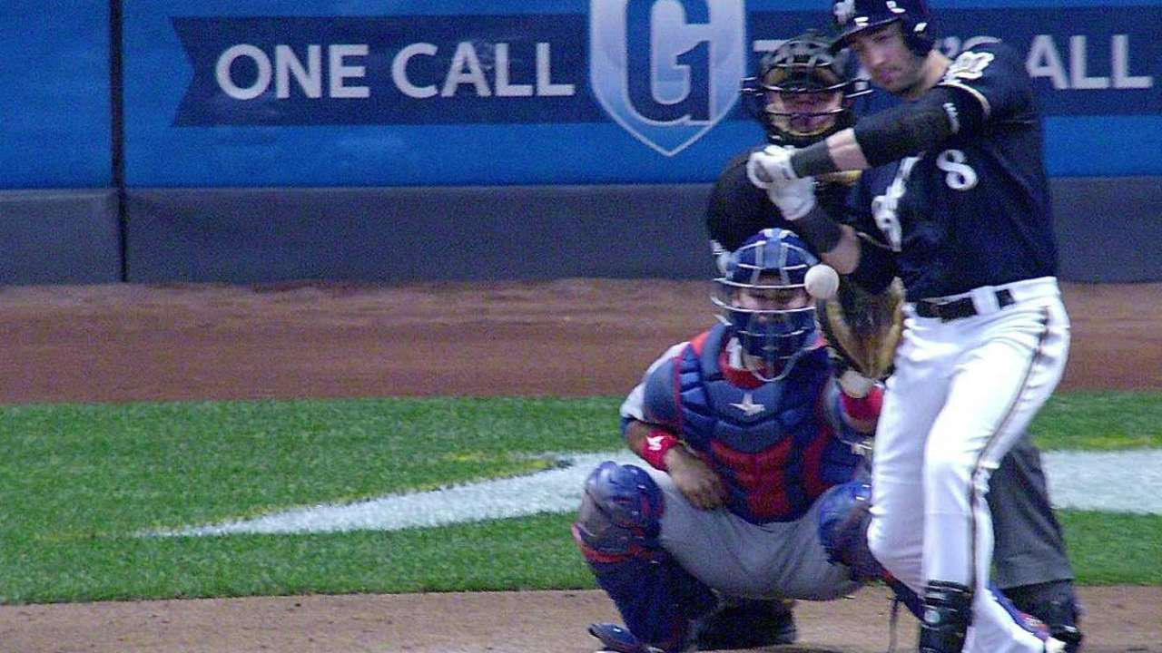 Braun reaches on HBP after call overturned