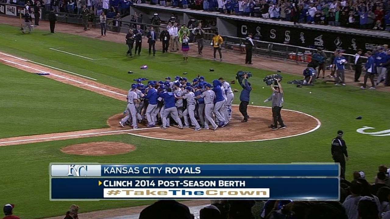 Royals punch ticket to first postseason since 1985