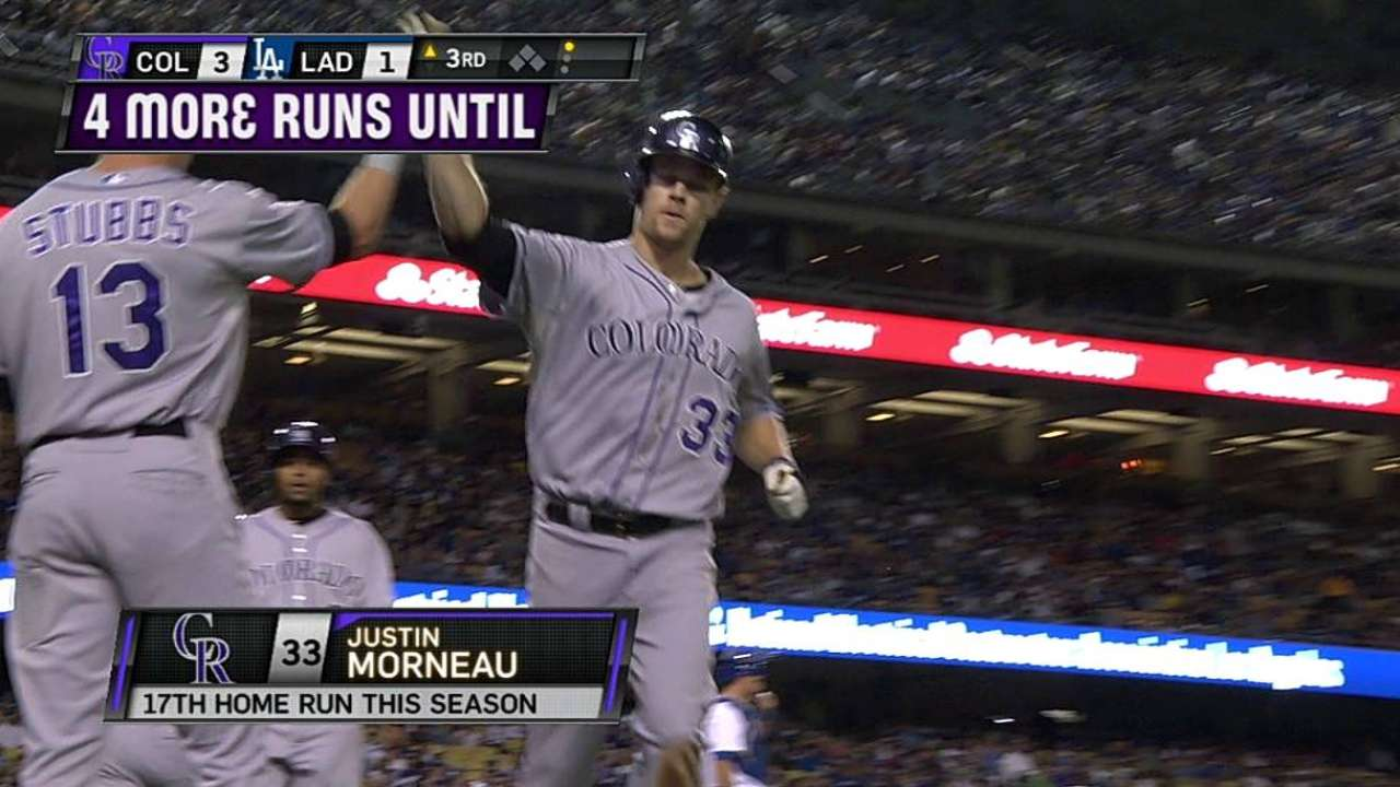 Apprehensive at first, Morneau finds home with Rockies