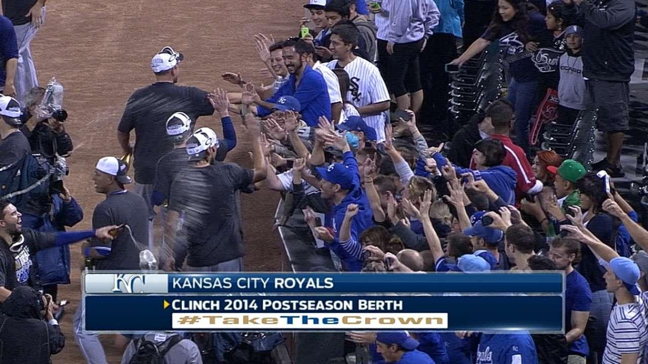 Fans part of Royals' long-awaited celebration