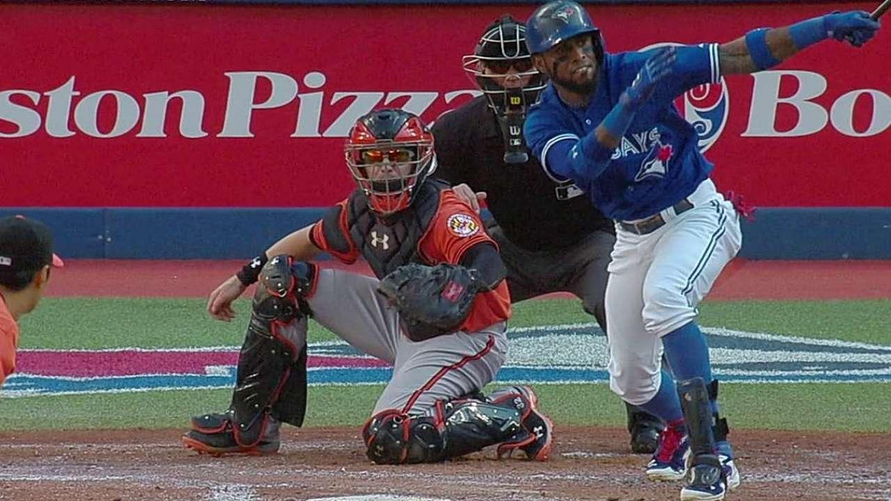 Reyes empuja dos y Toronto doblega a los Orioles