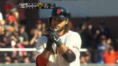 Giants top Padres on Crawford's clutch hit