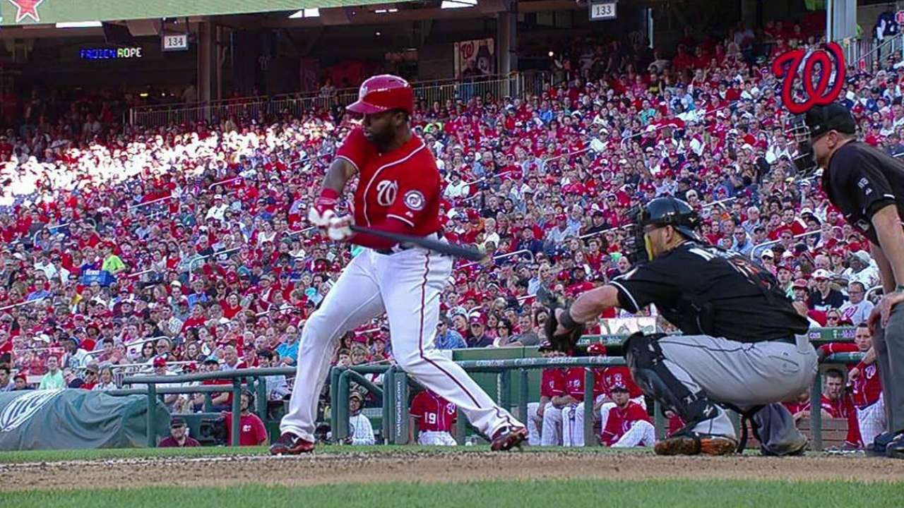 Span ties one Washington record, sets another