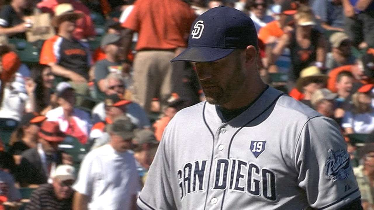 Stults finishes strong as Padres lose late