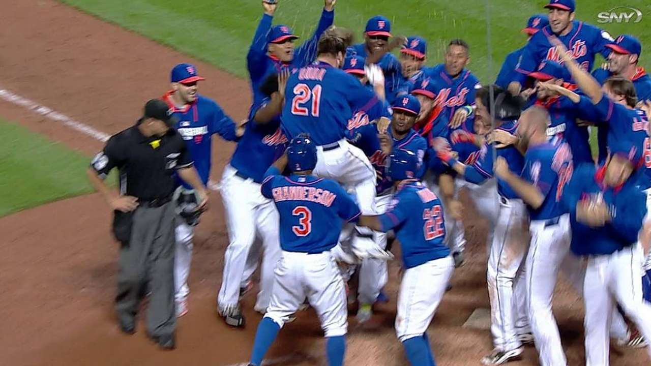 Worth the wait: Duda's walk-off HR in ninth lifts Mets
