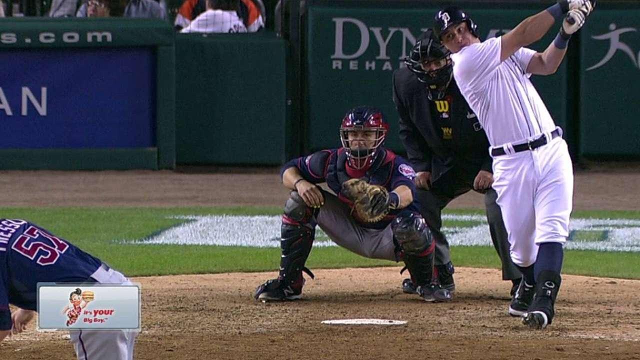 McCann's first MLB double