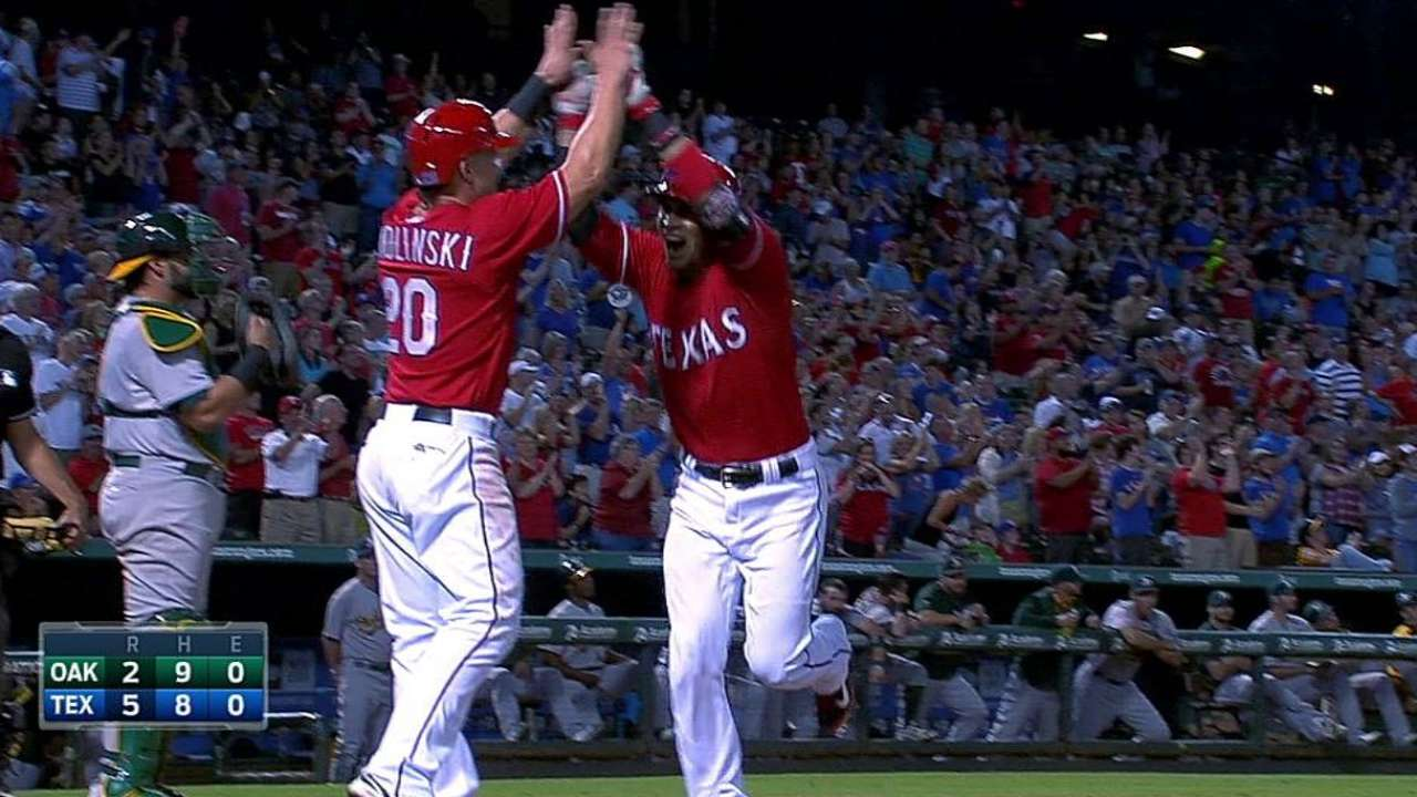 Rangers angling to solve backup catcher spot