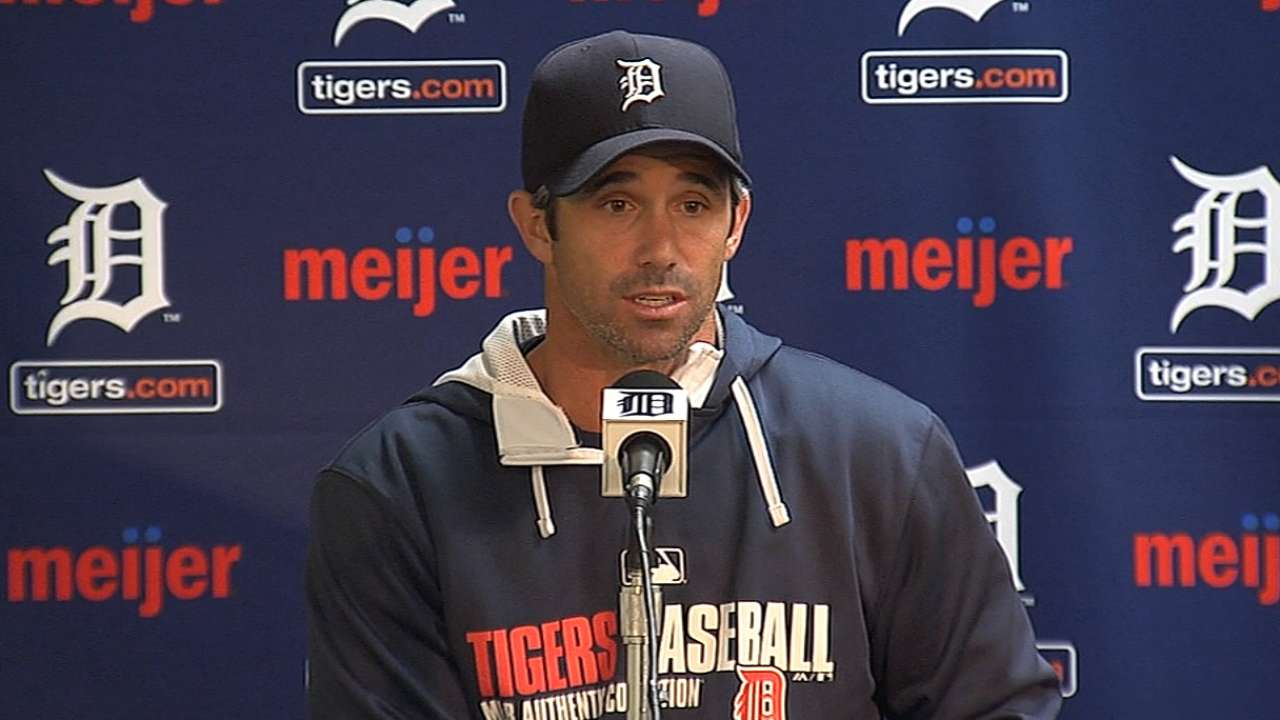 Tigers on wrong end of rout; magic number 1