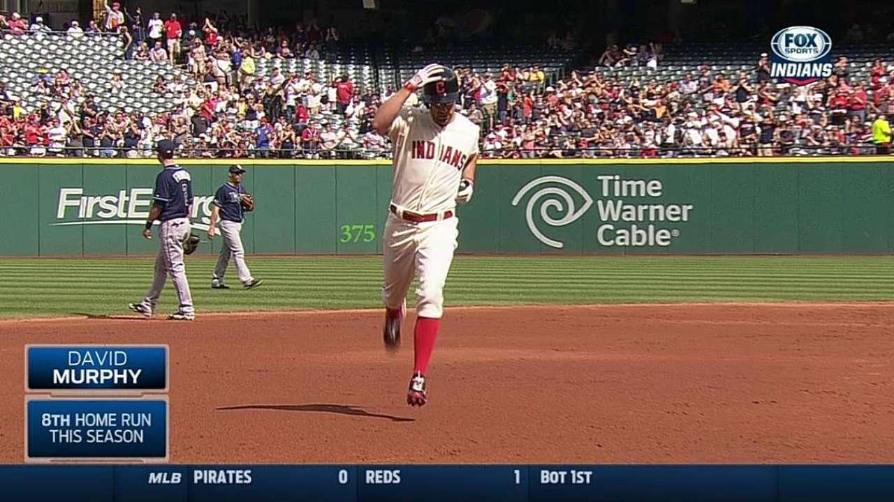 Murphy's leadoff homer