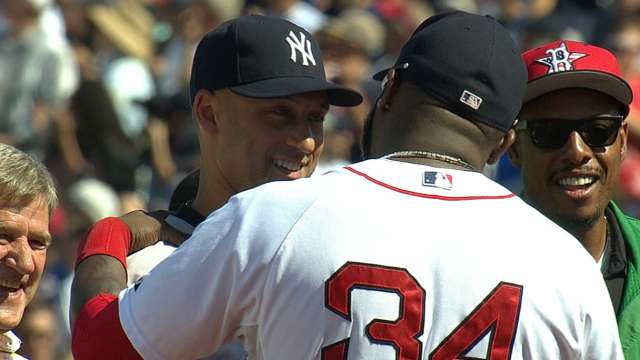 Boston legends celebrate Jeter