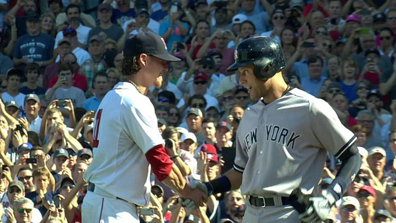 Red Sox end season with loss to Yanks in Jeter's finale