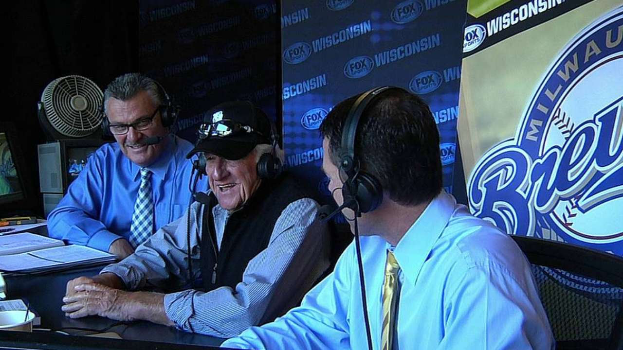 Brewers add Levering to help with broadcast, new media
