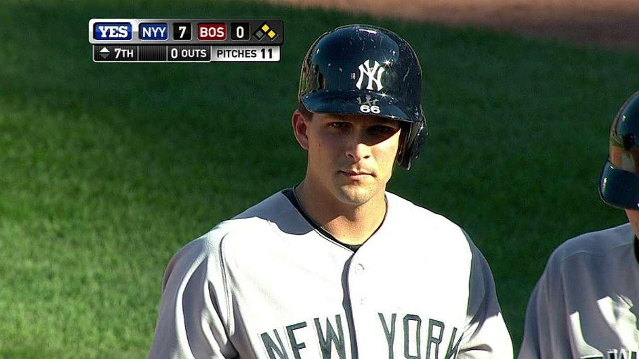 Murphy wins spot as Yankees' reserve catcher