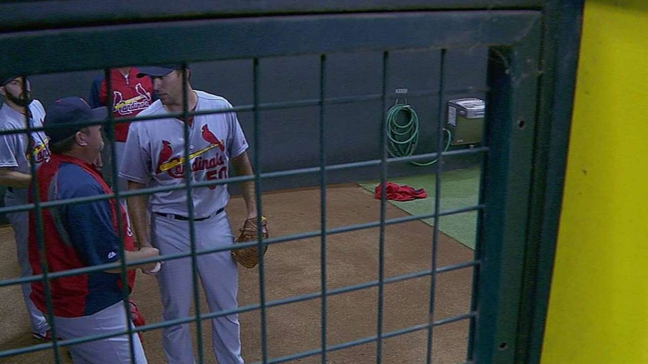 Cards rest Wainwright, others after clinching