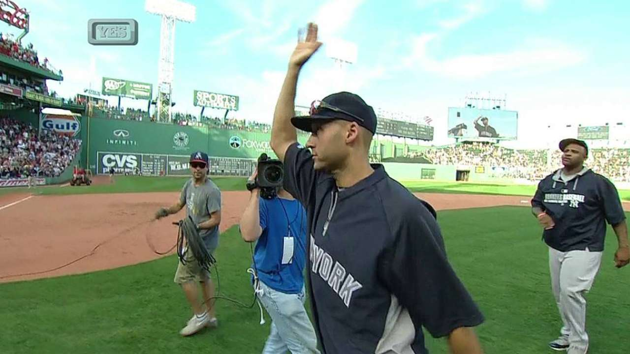Jeter fittingly goes out a winner in final game