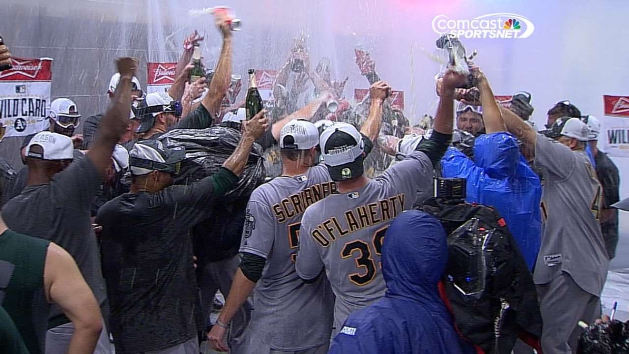 Five reasons why A's made the postseason