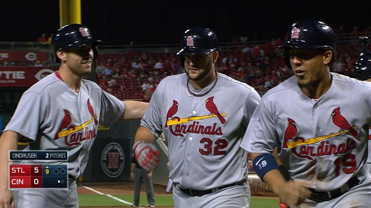 Constructing a winner: Cardinals