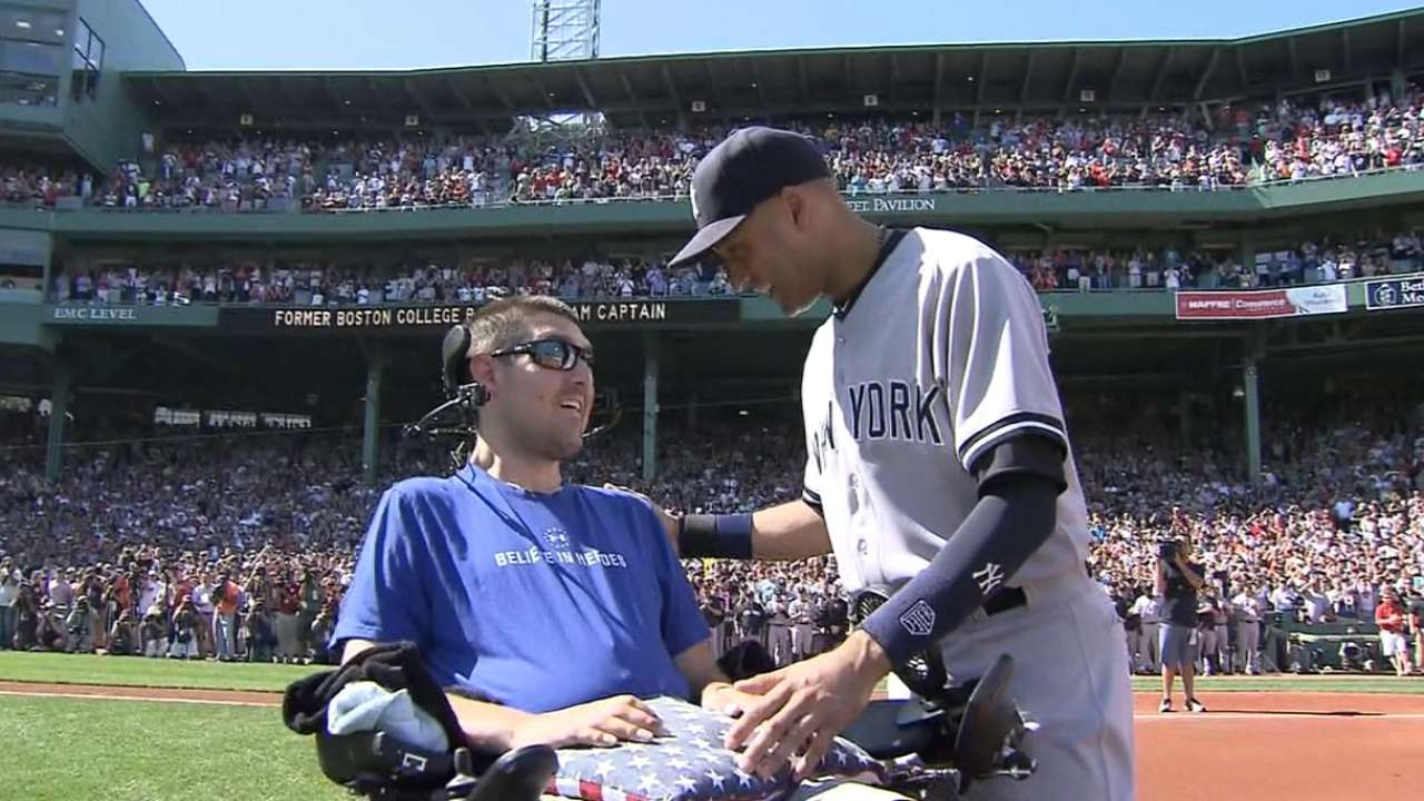 Frates thanks Jeter