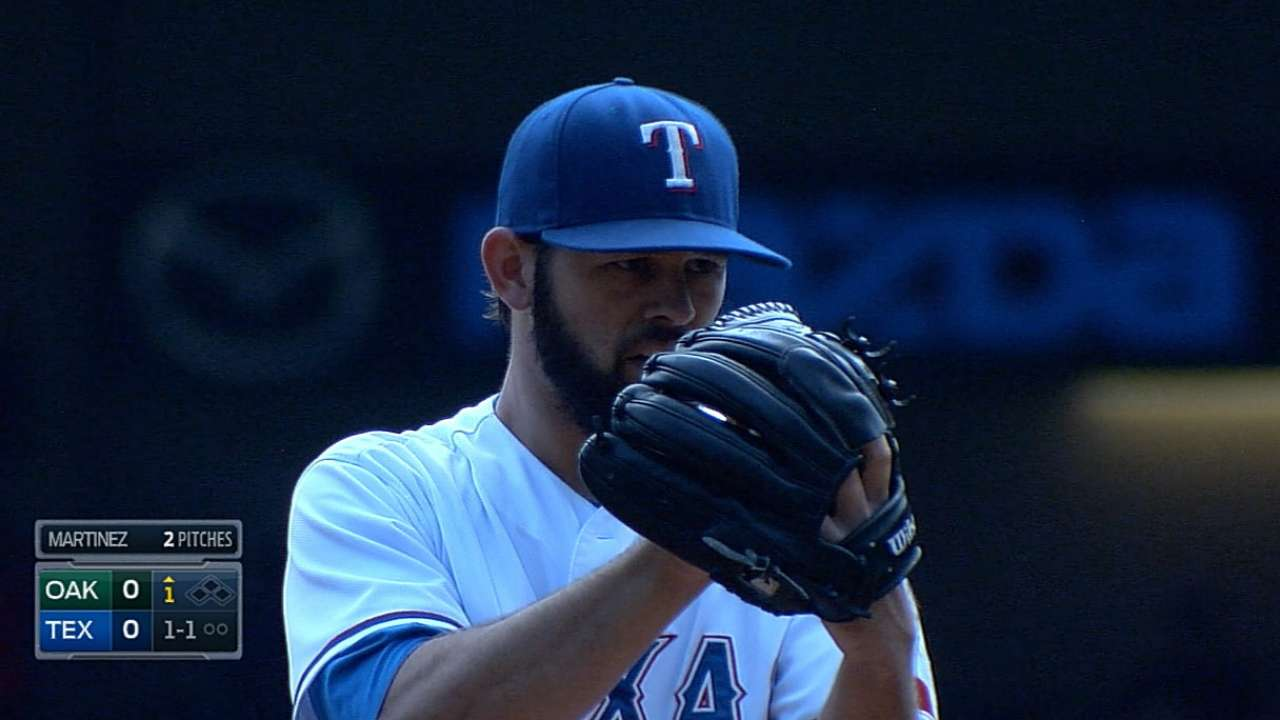 Rangers wrap up trying season with loss to A's