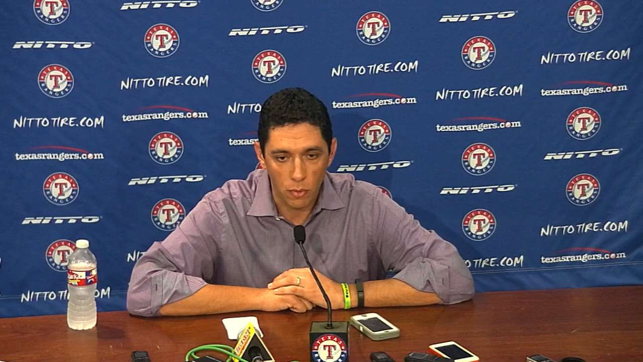 Rangers hope to hire manager by World Series