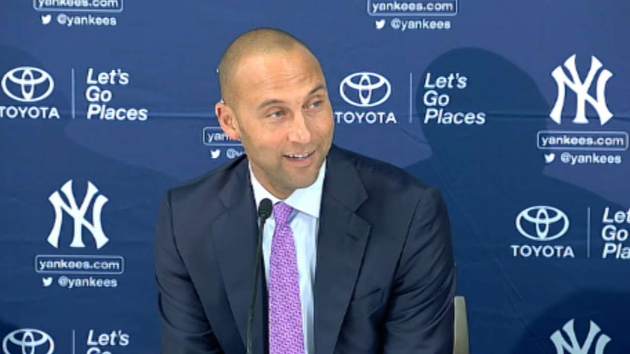 Girardi: Group effort needed to fill void left by Jeter