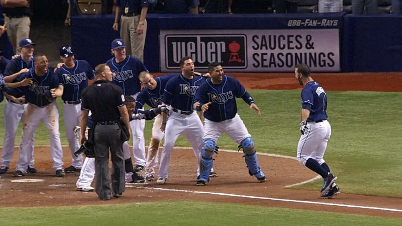 Murphy's Law in effect for Rays in 2014